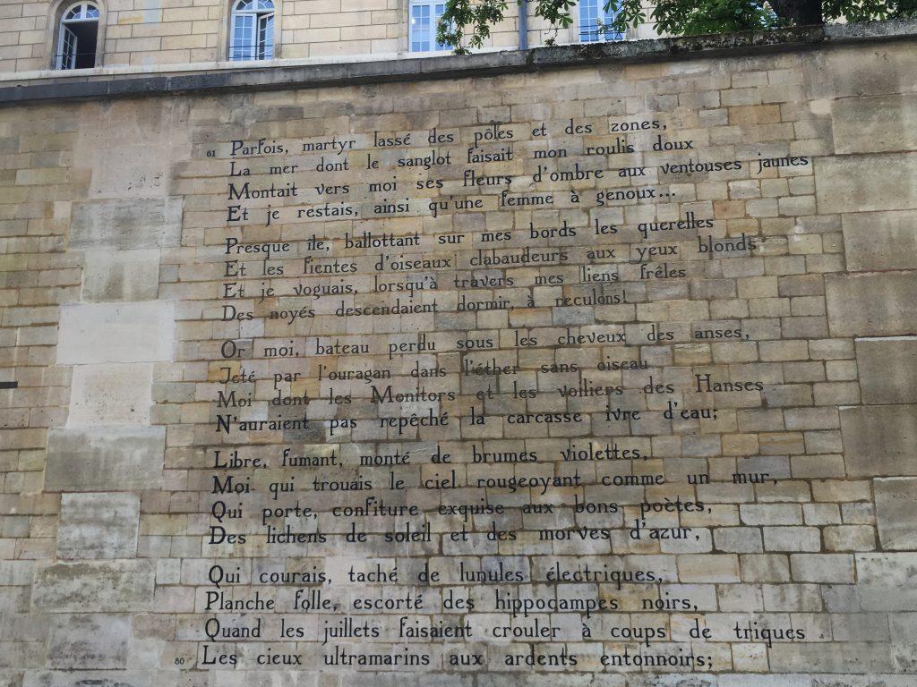 Arthur Rimbaud Le Bateau Ivre